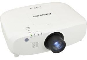 Panasonic PT-EZ770ZLE  3LCD WUXGA 6500 Lumens Projector Without Lens