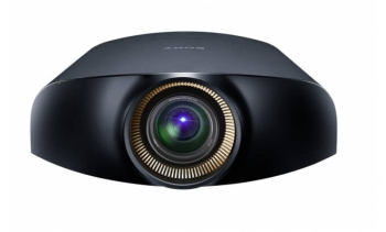 Sony VPL-VW1100ES FHD 2000 Lumens SXRD Projector with Screen Innovation SI5KZ125ST Projector Screen