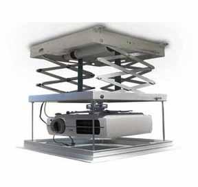 Draper Micro Projector Motorized Controls Lift