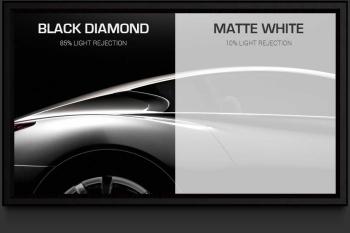 "Screen Innovations Black Diamond 0.8 39.25"" x 70"" 80"" Diagonal 16:9 Aspect Fixed Projector Screen"