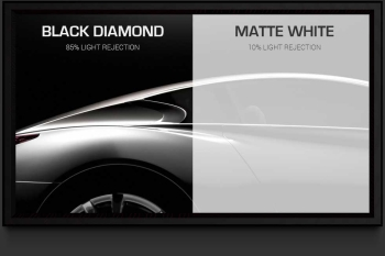 "Screen Innovations Black Diamond 0.8 54"" x 96"" 110"" Diagonal 16:9 Aspect Fixed Projector Screen"