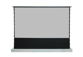 "DMInteract 135"" Black Crystal Floor Rising Projector Screen"