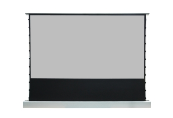 "DMInteract 135"" Floor Rising Projector Screen - Black Crystal"