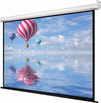 """iView M150 80"""" Diagonal Manual Projector Screen 1:1 Format"""