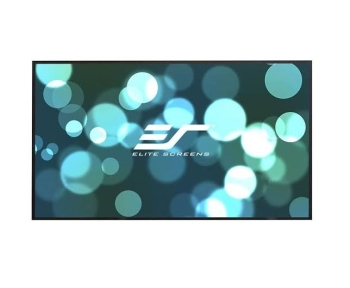 "Elite Screens AR103WH2 103"" Aeon Series 8K / 4K Ultra HD Fixed Frame Projector Screen"