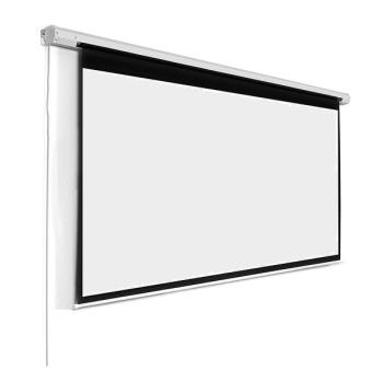"Alpha MPES200D 200"" Motorized Projector Screen"