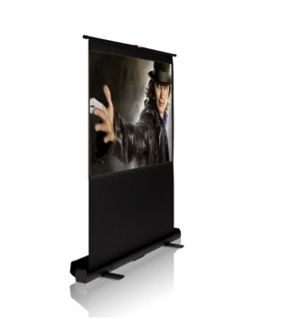 Alpha PPFS80 160x120cm White Matte Portable Floor Stand Projector Screen