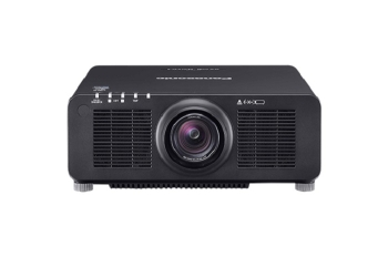Panasonic PT-RZ120LBE 12000 Lumens DLP Projector (Black Without Lens)