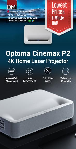 Optoma CinemaX P2 3000 ANSI Lumens 4K UHD Laser Cinema Projector
