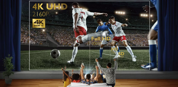 4K UHD True 8.3 Million Pixel Perfection